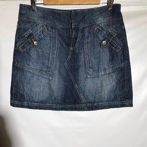 DKNY Denim Miniskirt